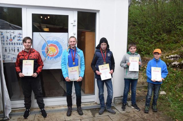 Siegerehrung Blankbogen Schüler