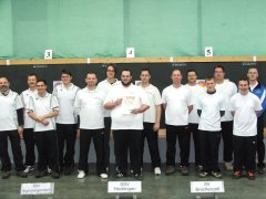 Siegerehrung Landesliga Süd Halle 2012