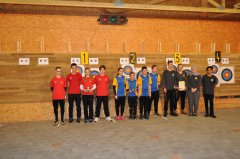 Siegerehrung Bezirks-Jugendliga