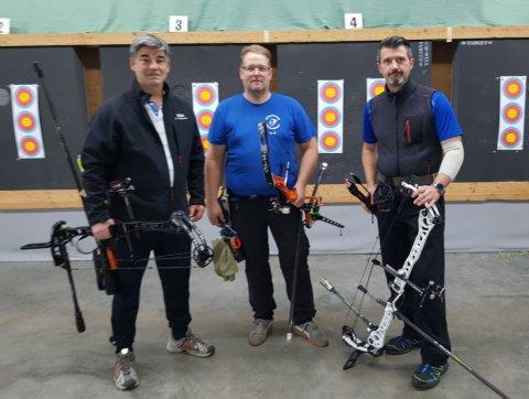 Compound-Team: Erick Knoblauch, Olaf Nessensohn, Andreas Gudelj