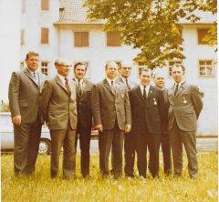 Vorstandschaft 1971