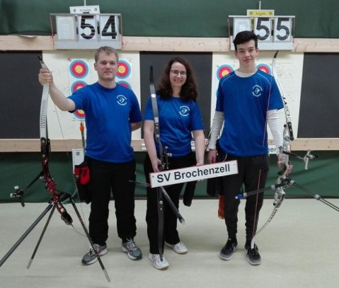 Liga-Team 1: Roman Hartmann, Nicole Flitz, Inigo Roces
