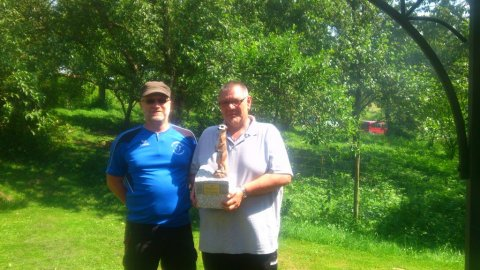 Sieger des Finales: Matthias Reutter und Peter Meichle