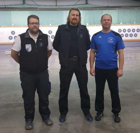 Liga-Team 2: Olaf Nessensohn, Jürgen Offermann, Nino Ullmann (es fehlt Thomas Zäh)